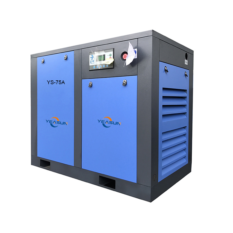 Fully integrated variable frequency air compressor